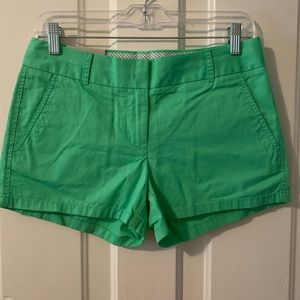 J Crew Chino Shorts NWT - Seafoam Green